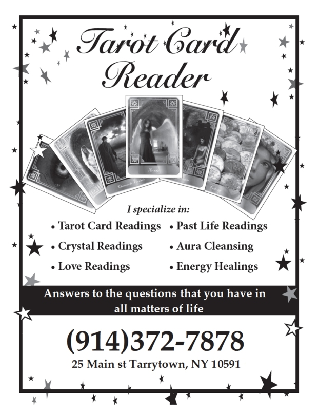 Mike Tarot Card Reader 4UP